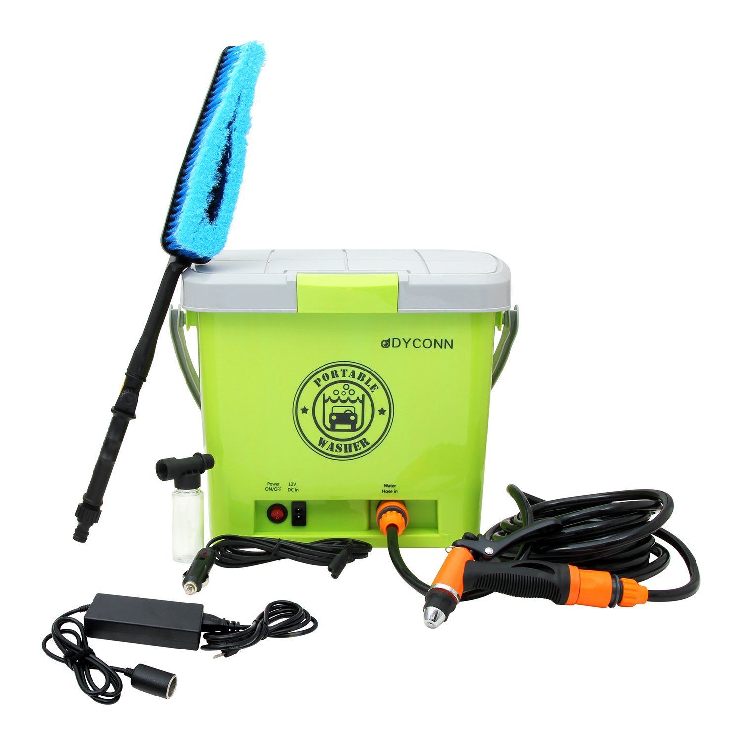 Dyconn Faucet HPPWS-12V Portable Pressure Washer