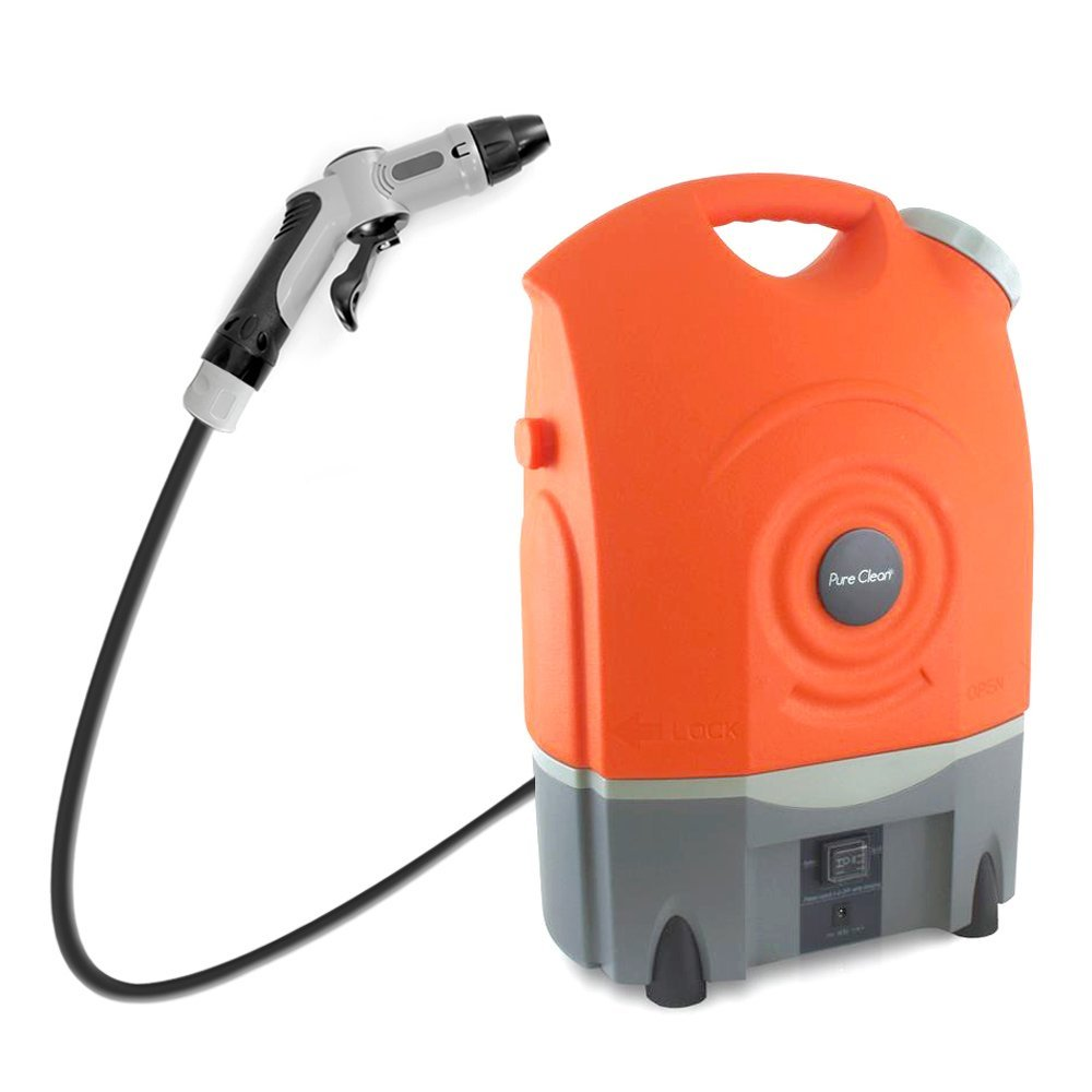 Pure Clean Outdoor Portable Spray Pressure Washer Cleaner
