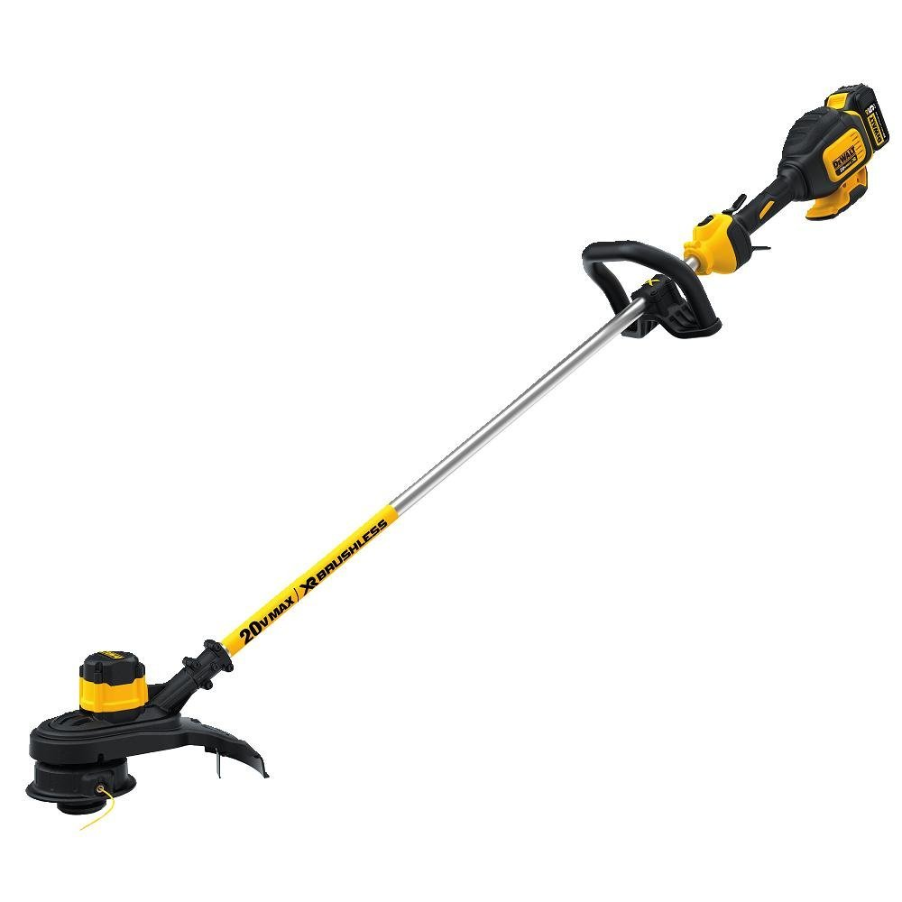 DEWALT DCST920P1 20V MAX 5.0 Ah Lithium-Ion XR Brushless String Trimmer