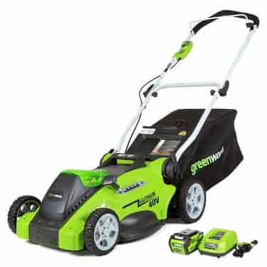 GreenWorks 25322 G-MAX 40V 16-Inch Cordless Lawn Mower
