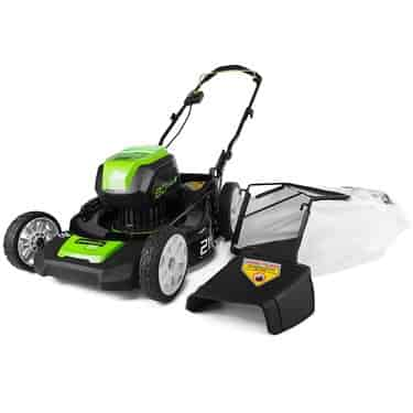GreenWorks Pro GLM801600 80V 21-Inch Cordless Lawn Mower