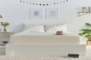 Brentwood Home Cypress Mattress 13-Inch Gel Memory Foam Queen-min