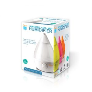 Crane USA Humidifiers - White Drop Ultrasonic Cool Mist Humidifier