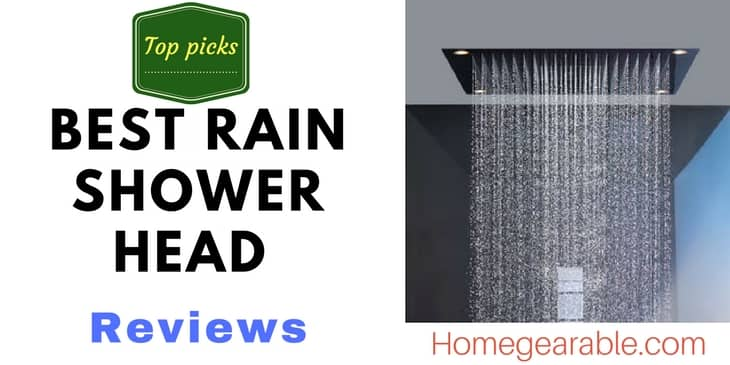 Best Rain Shower Head And Handheld Combo 2021 Reviews