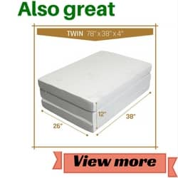 Milliard,Tri Folding Mattress review