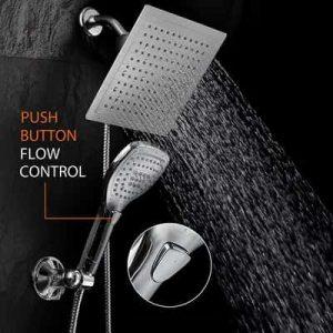 Luxury 9 Rainfall Shower Head Handheld Combo-min