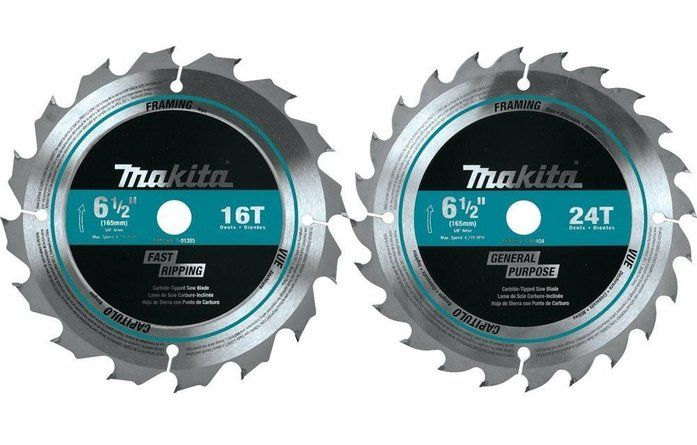 Makita T-01426 2 Piece Carbide-Tipped Saw Blade Set