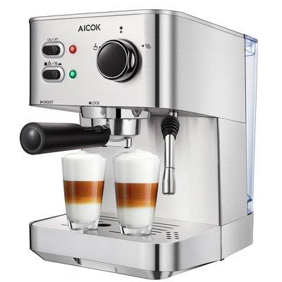 Espresso Machine Aicok, Cappuccino and Latte Coffee Maker
