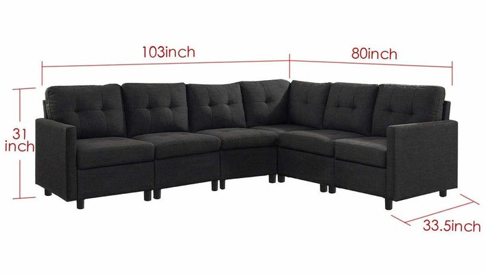 Outstanding Best Sectional Sofas Reviews 2019 Christmas Deals 2019 Caraccident5 Cool Chair Designs And Ideas Caraccident5Info