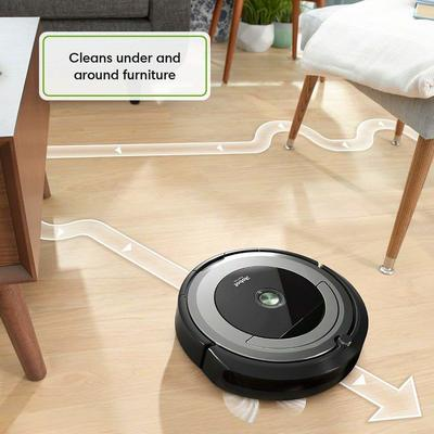 Roomba 690 Cleans very fine