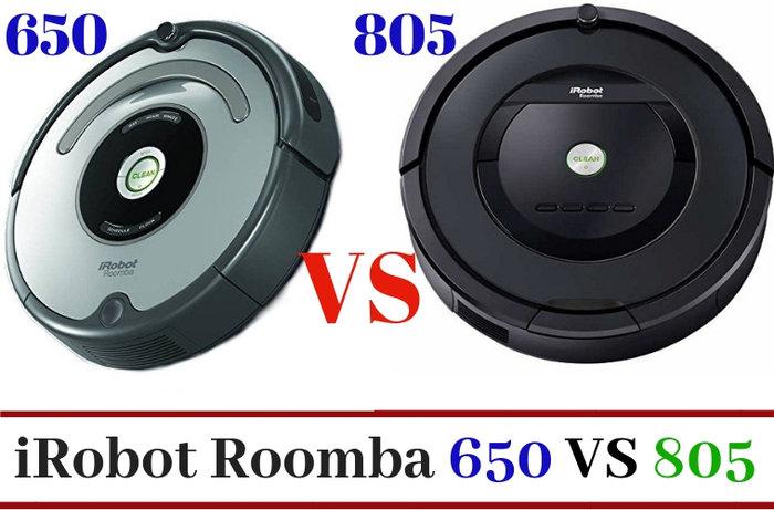 roomba 650 vs 805