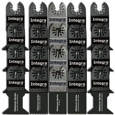 INTEGRA 20pc Mix-Wood Bi-metal Precision Pack Oscillating Saw Blade