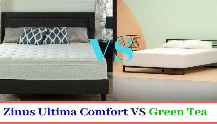 zinus green tea vs ultima comfort