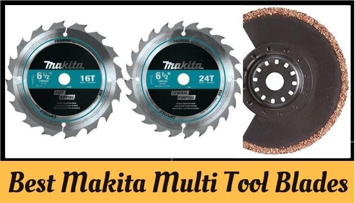 Makita Multi Tool Blades