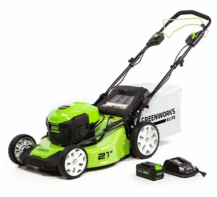 4. Greenworks 21-Inch 40V Brushless Self-Propelled Mower