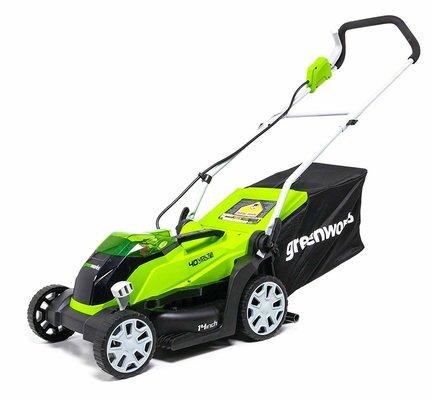 5. GreenWorks MO40B00 MO40L410 Lawn Mower