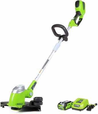 8. Greenworks Cordless String Trimmer