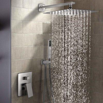 Esnbia Brushed Nickel Shower System