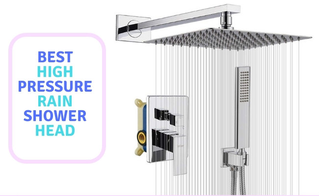 high pressure rain shower head