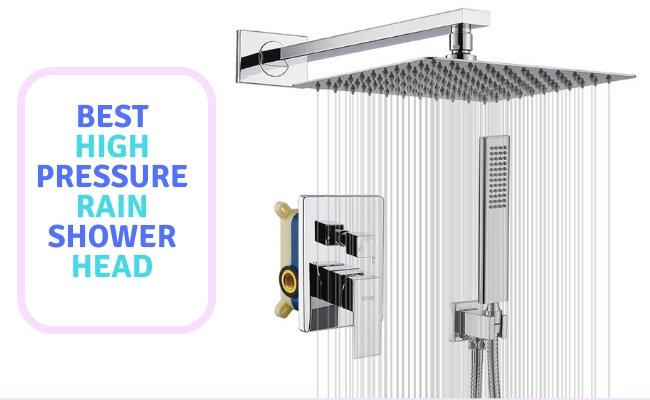 10 Best High-Pressure Rain Shower Head 2020 Reviews