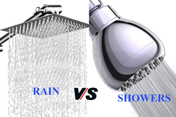 Difference Between Rain and Showers
