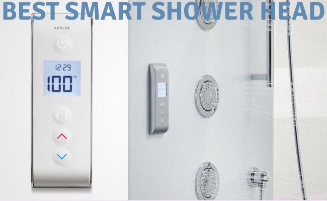 Best Smart Shower head- Digital shower control