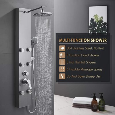 ROVOGO 304 Stainless Steel Shower Panel
