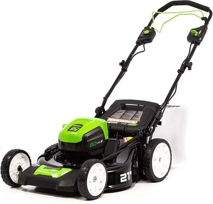 Greenworks Pro 21-inch 80v Brushless Self-propelled Cordless Lawn Mower