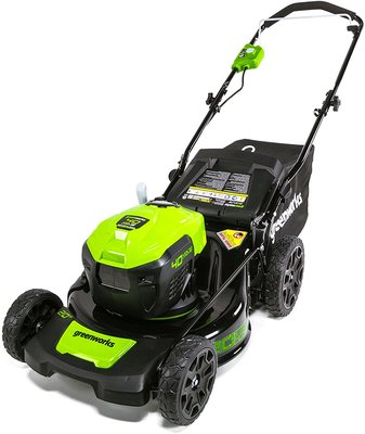 "Greenworks™ 20"" 40-volt Dual Port Cordless Push Lawn Mower"
