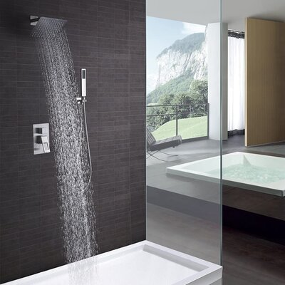 SUMERAIN Shower Faucet Brushed Nickel