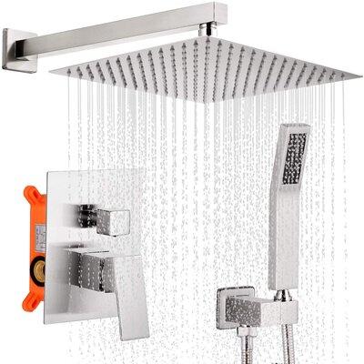 Qomolangma 12 inches Bathroom Rain Shower System