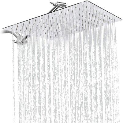 Sooreally 12 Inch Square Rain Shower Head